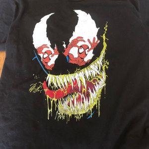 Spider-Man / Venom XL black shirt